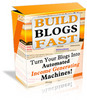 WP Build Blog Fast + Theme + MRR + Reseller Site