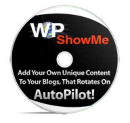 Product picture Wp Show Me + PLR + Tutorial