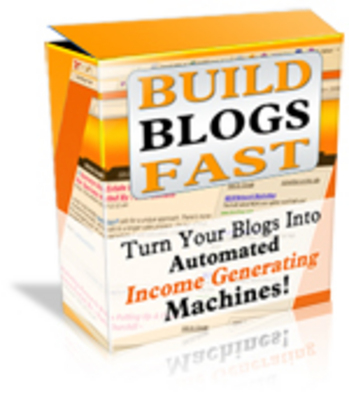 Product picture WP Build Blog Fast + Theme + MRR + Reseller Site