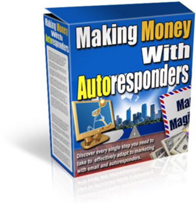 Product picture Making Money With AutoResponders + Tutorial