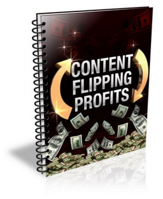 Product picture Content Flipping Profits + PLR