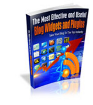 Product picture Effective Blog Widgets Plugin + MRR